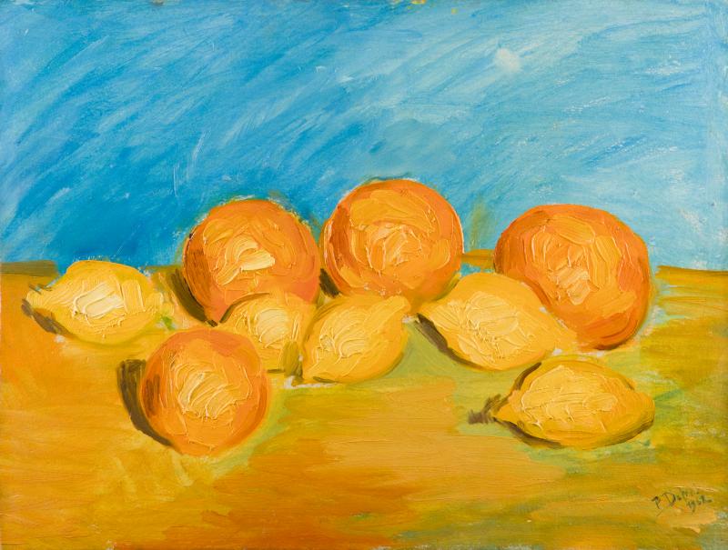 Peter Dotrel Stillleben mit Orangen und Zitronen