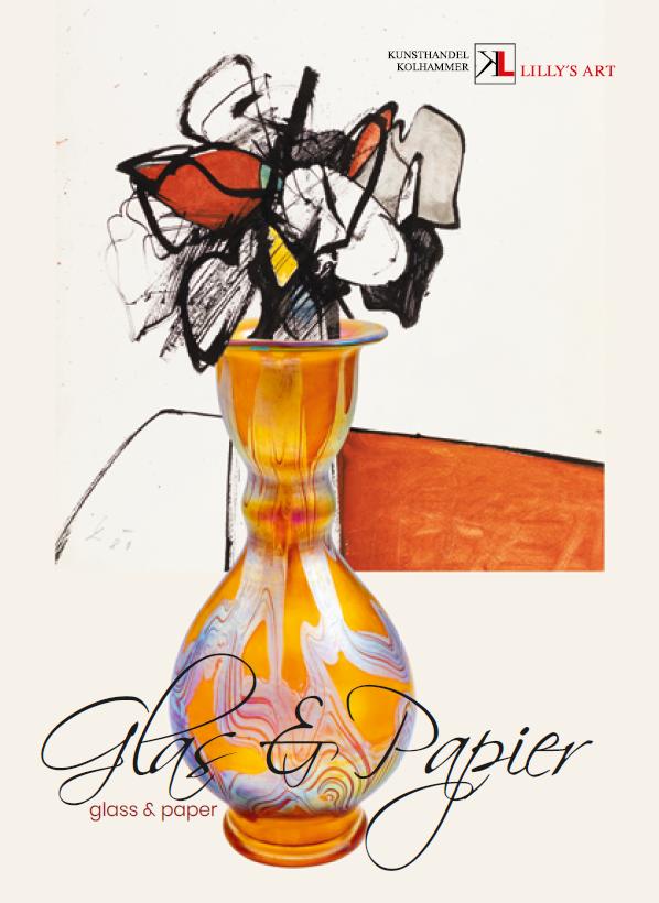 Ausstellung Glas und Papier Dezember 2020