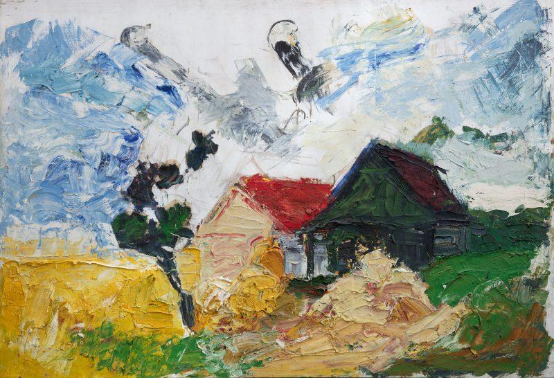Franz Grabmayr Bauernhaus im Waldviertel