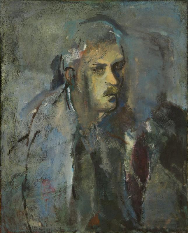 Peter Dotrel Selbstporträt