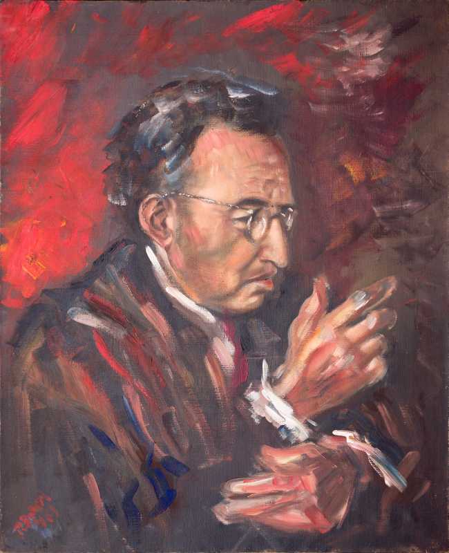 Peter Dotrel Männerporträt