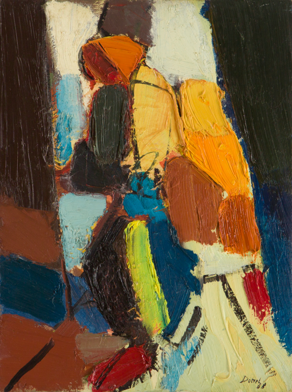 Peter Dotrel Figurale Komposition