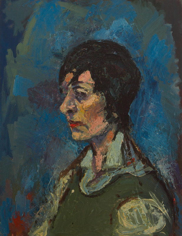 Peter Dotrel Damenporträt