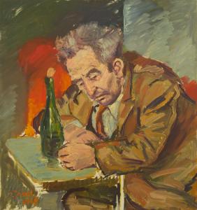Peter Dotrel Der Zecher