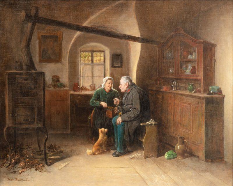 """Friedrich Friedländer """"Plauderei"""""""