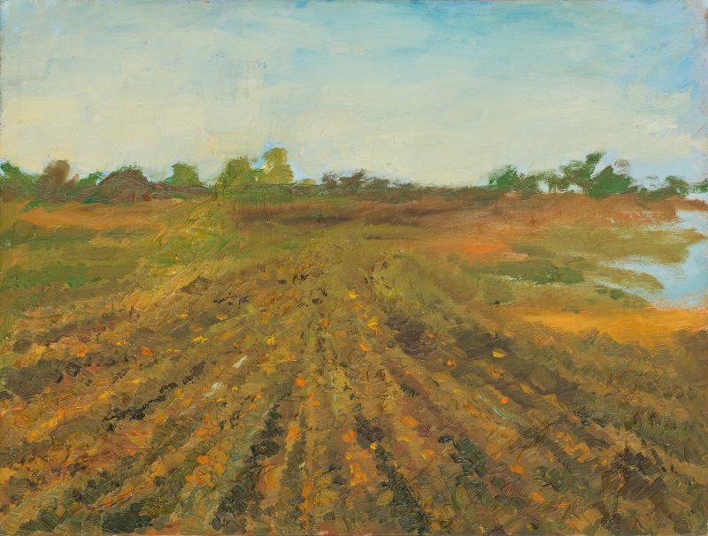 Peter Dotrel Pannonische Landschaft