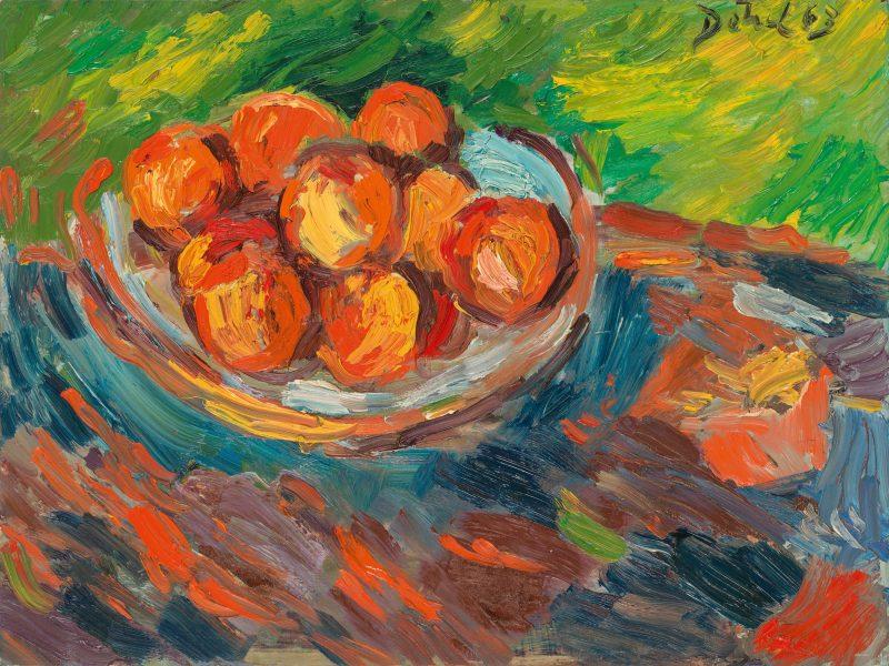 Peter Dotrel Stillleben mit Orangen