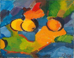 Peter Dotrel Stillleben mit Zitronen und Orange