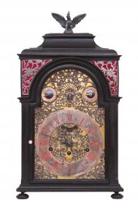 Barockuhr mit Carillon Ignatius Henrich Insprugg
