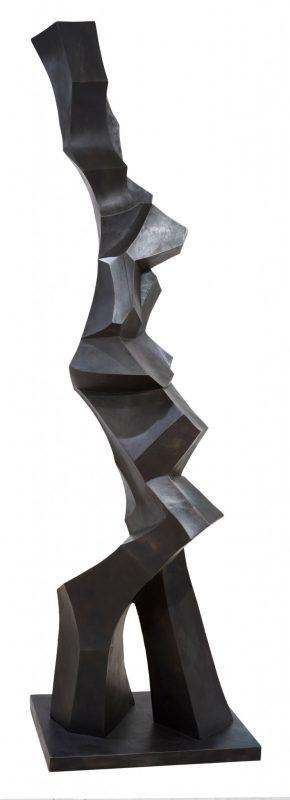 Oskar Höfinger Samba Tänzerin Bronze